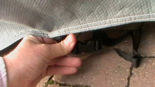 Integrated Securing Strap
