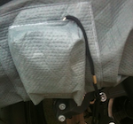 Motorcycle / Scooter Cover Alarm and Pouch ( Available on STORMFORCE Covers only )